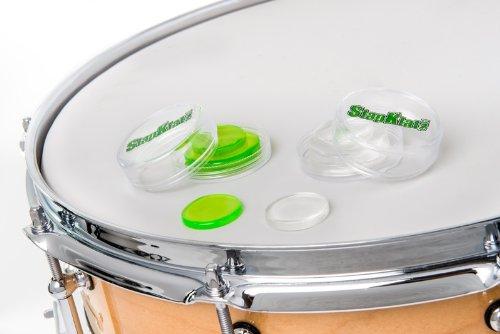 slapklatz drum gel dampening pack green clear drumattic. Black Bedroom Furniture Sets. Home Design Ideas
