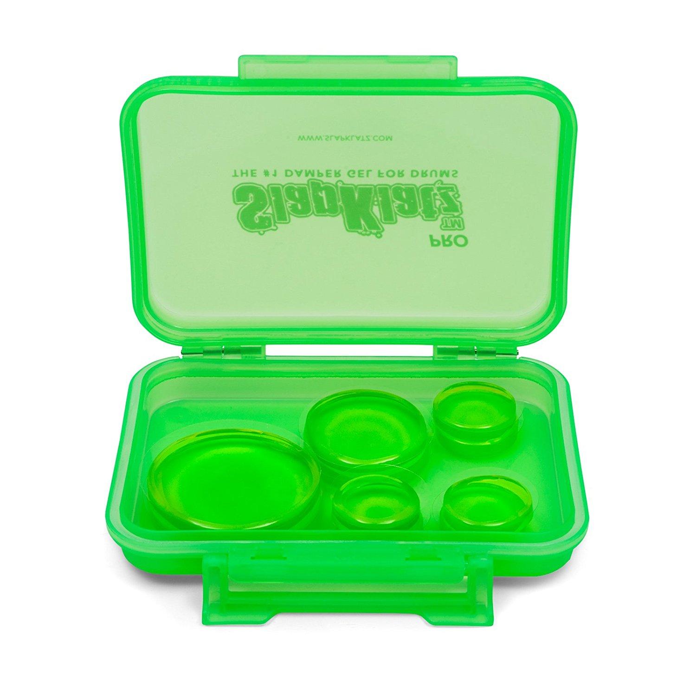 slapklatz drum pro pack gel dampening green clear drumattic. Black Bedroom Furniture Sets. Home Design Ideas