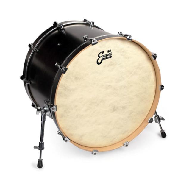 evans calftone bass drum heads drumattic. Black Bedroom Furniture Sets. Home Design Ideas