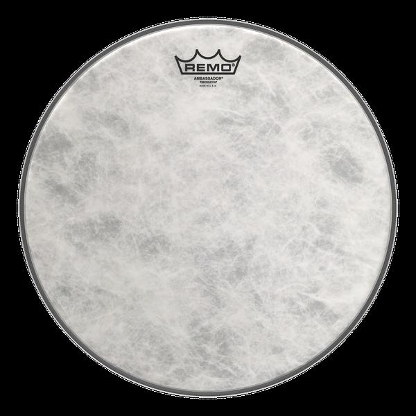 remo 14 fiberskyn ambassador snare drum head drumattic. Black Bedroom Furniture Sets. Home Design Ideas